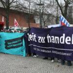 Neuköllner SPD demonstriert gegen NPD im Bezirk 11