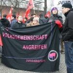 Neuköllner SPD demonstriert gegen NPD im Bezirk 12
