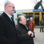 Neuköllner SPD demonstriert gegen NPD im Bezirk 13