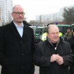 Neuköllner SPD demonstriert gegen NPD im Bezirk 14