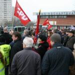 Neuköllner SPD demonstriert gegen NPD im Bezirk 16