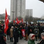 Neuköllner SPD demonstriert gegen NPD im Bezirk 1