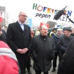 Neuköllner SPD demonstriert gegen NPD im Bezirk 2