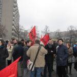 Neuköllner SPD demonstriert gegen NPD im Bezirk 4