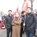 Neuköllner SPD demonstriert gegen NPD im Bezirk 6