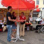 Jubiläumsfest der SPD Neukölln auf dem Karl-Marx-Platz 23