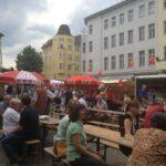 Jubiläumsfest der SPD Neukölln auf dem Karl-Marx-Platz 22