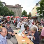 Jubiläumsfest der SPD Neukölln auf dem Karl-Marx-Platz 17