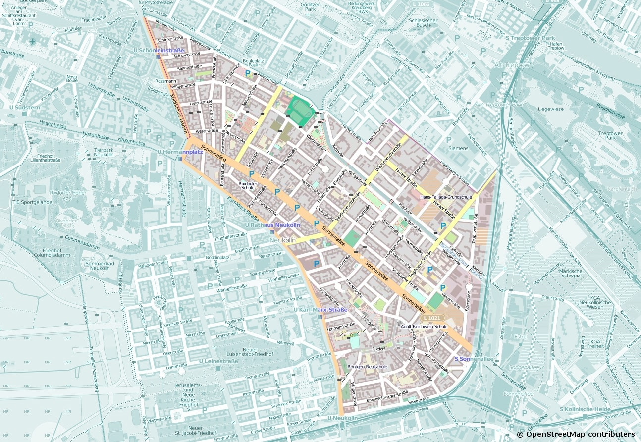 Abteilungsgebiet Rixdorf