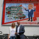 Fritz-Comic für Wahlkampf mit Augenzwinkern 3