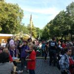 SPD Neukölln beim Rixdorfer Strohballenrollen 15