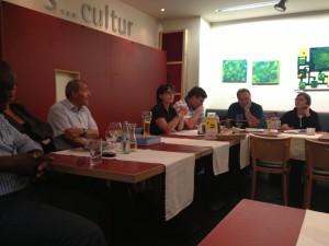 Kazim Erdogan zu Gast bei der Abteilung Rixdorf