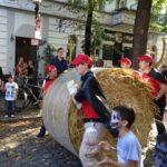 SPD Neukölln beim Rixdorfer Strohballenrollen 7