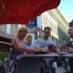Wahlkampf in Rixdorf: Plakatieren, Info-Stände und Public Viewing! 11