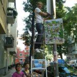 Wahlkampf in Rixdorf: Plakatieren, Info-Stände und Public Viewing! 15
