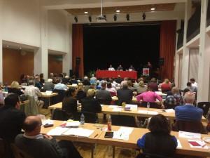Kreisdelegiertenversammlung der SPD Neukölln am 25. Oktober 2013
