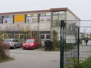 Der jetzige Standort der Clay-Schule im Bildhauerweg.