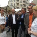 Europafest auf dem Alfred-Scholz-Platz 2