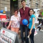 Europafest auf dem Alfred-Scholz-Platz 3