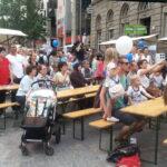 Europafest auf dem Alfred-Scholz-Platz 1