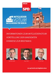 Neuköllner Mitgliederforum zur Vorstellung der 3 Bürgermeisterkandidaten 1