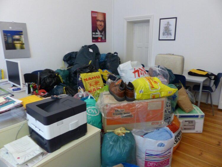 Spendenübergabe an die Flüchtlingsunterkunft 5