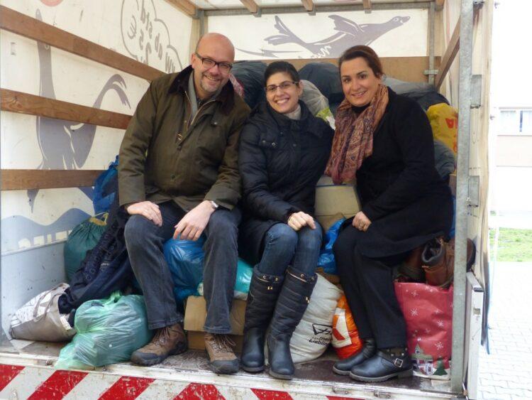 Spendenübergabe an die Flüchtlingsunterkunft 4