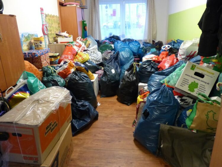 Spendenübergabe an die Flüchtlingsunterkunft 2