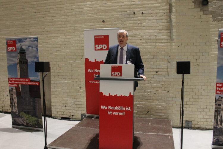 Jahresempfang der Neuköllner SPD und BVV-Fraktion 16