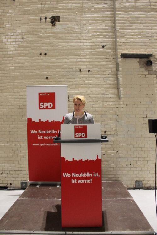 Jahresempfang der Neuköllner SPD und BVV-Fraktion 17