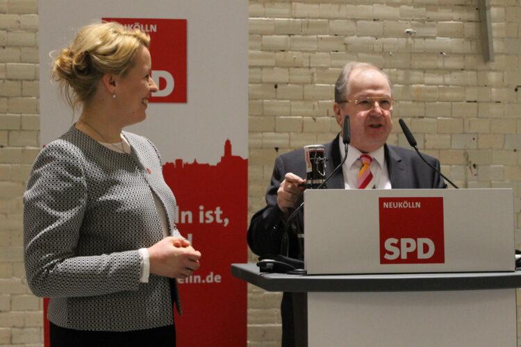 Jahresempfang der Neuköllner SPD und BVV-Fraktion 2