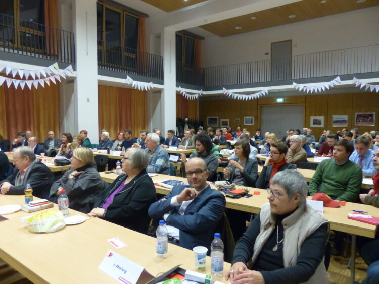 Neuköllner SPD-Kreisparteitag nominiert Dr. Franziska Giffey als Bezirksbürgermeisterin 6