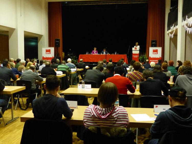 Neuköllner SPD-Kreisparteitag nominiert Dr. Franziska Giffey als Bezirksbürgermeisterin 2