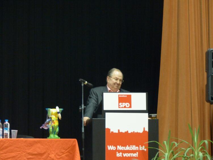 Neuköllner SPD-Kreisparteitag nominiert Dr. Franziska Giffey als Bezirksbürgermeisterin 4