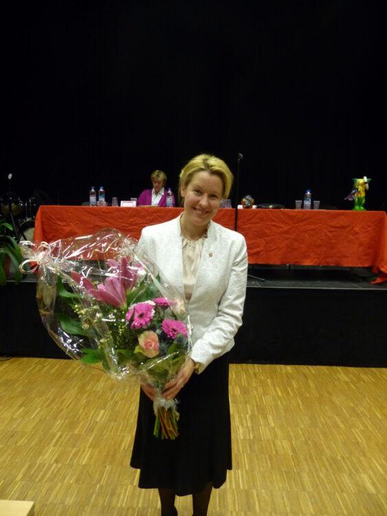 Neuköllner SPD-Kreisparteitag nominiert Dr. Franziska Giffey als Bezirksbürgermeisterin 5