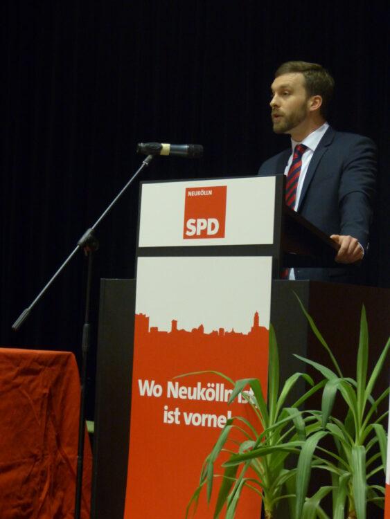 Neuköllner SPD-Kreisparteitag nominiert Dr. Franziska Giffey als Bezirksbürgermeisterin 7