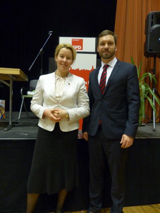 Neuköllner SPD-Kreisparteitag nominiert Dr. Franziska Giffey als Bezirksbürgermeisterin 9