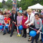 Eröffnung des Europaspielplatzes im Park am Buschkrug 3