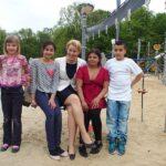 Eröffnung des Europaspielplatzes im Park am Buschkrug 1