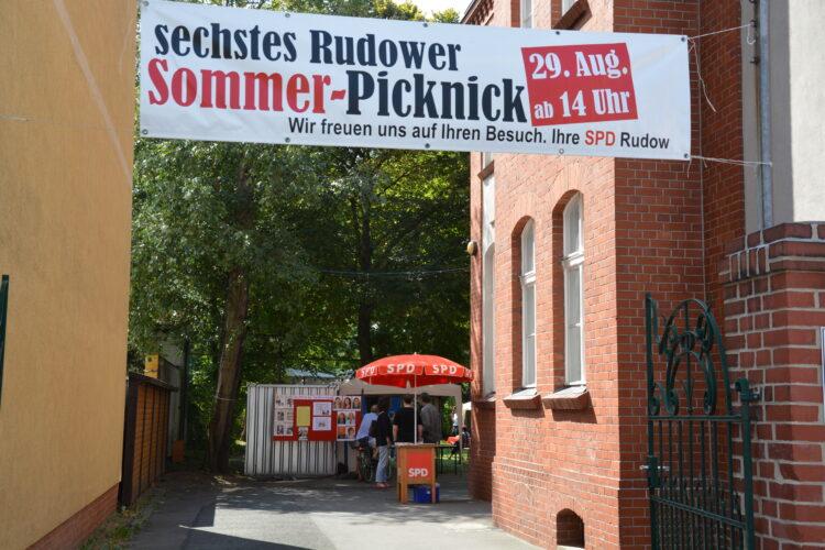 Sechstes Rudower Sommerpicknick 1
