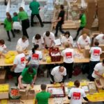 SPD Neukölln beteiligt sich am Packen der Bio-Brotboxen 2
