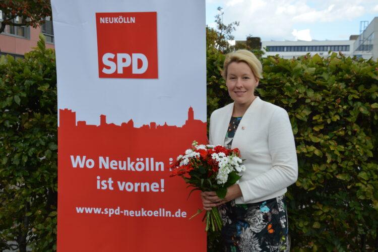 Neuköllner SPD nominiert Franziska Giffey zur Bürgermeisterkandidatin 1