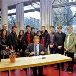 Der Regierende Bürgermeister Michael Müller auf Bezirksbesuch in Neukölln 10
