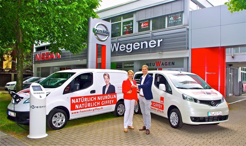 Mit Roberto Wegener.