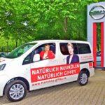 Übergabe von Wahlkampfautos an die SPD Neukölln 1