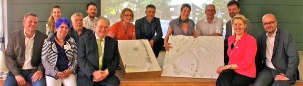 Der Masterplan für den Campus Efeuweg konnte im Juni 2014 der Öffentlichkeit vorgestellt werden