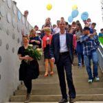 Einweihung der Kindl-Treppe am Tag der Städtebauförderung 1