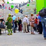 Einweihung der Kindl-Treppe am Tag der Städtebauförderung 2