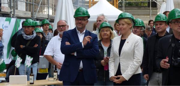 Durch die degewo entstehen erstmals seit 40 Jahren wieder neue Wohnungen in der südlichen Gropiusstadt.