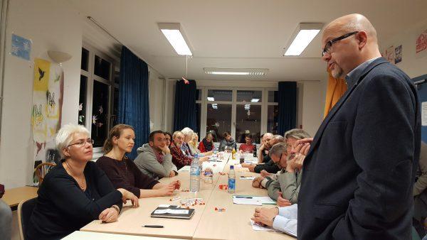 Dr. Fritz Felgentreu erklärt seine Kandidatur für den Deutschen Bundestag